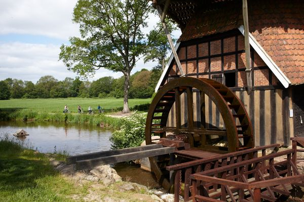 Hüvener Mühle - Blick auf Mittelradde